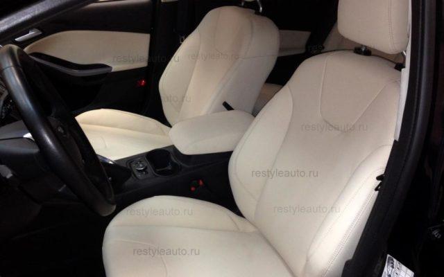 Перетяжка салона Форд Фокус 3