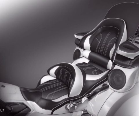 Перетяжка сидений на Honda GL1800 Gold Wing