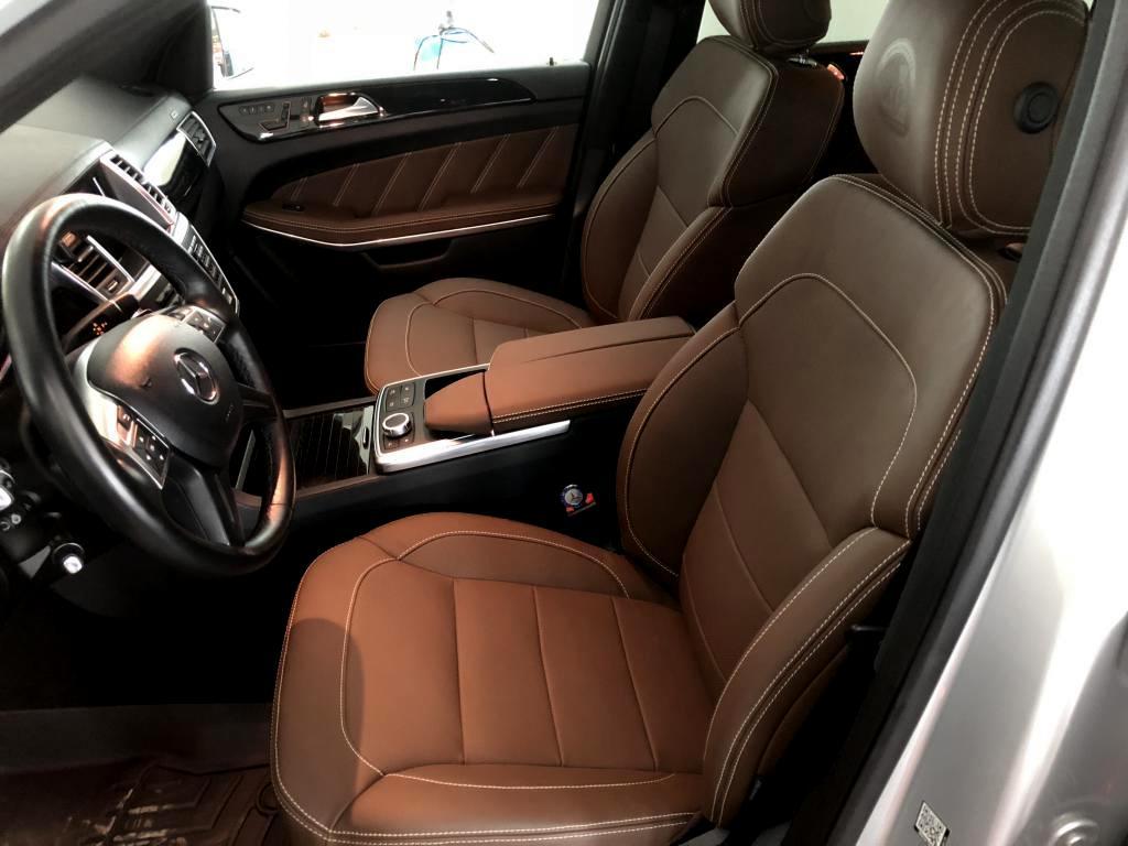 Перетяжка салона Mercedes Benz GL500