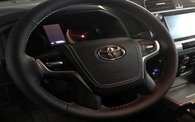Перетяжка руля Toyota Land Cruiser Prado 150