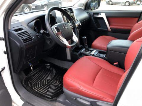 Перетяжка салона Toyota Land Cruiser Prado 150