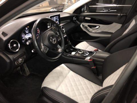 Перетяжка салона Mercedes Benz C-class W205