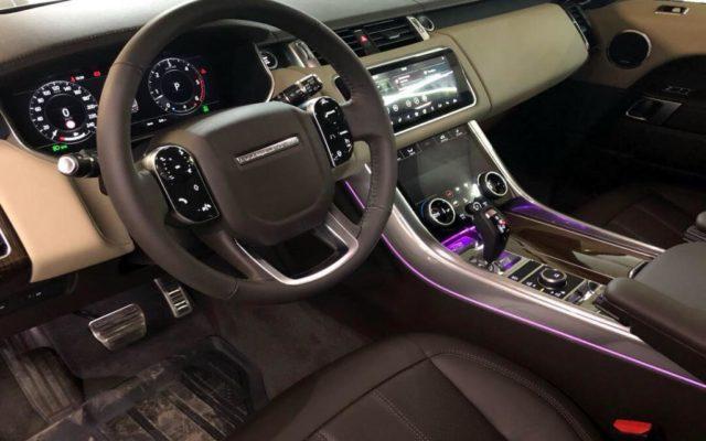 Перетяжка руля New Range Rover Sport