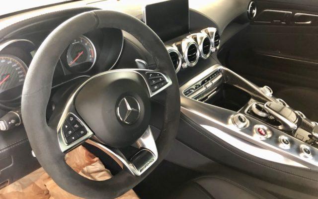 Перетяжка руля Mercedes-AMG GT