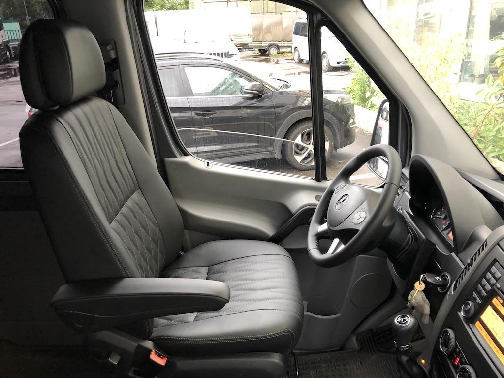 Перетяжка сидений Mercedes-Benz Sprinter