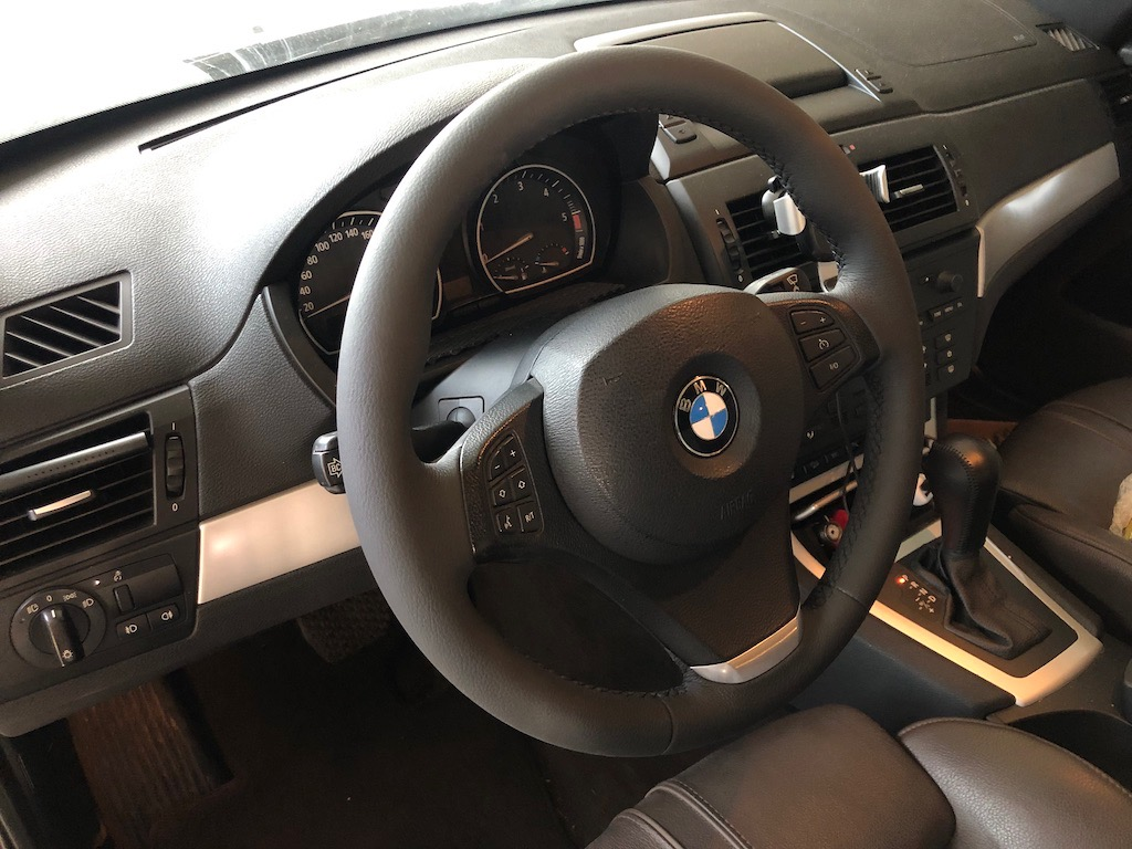 Перетяжка руля BMW X3