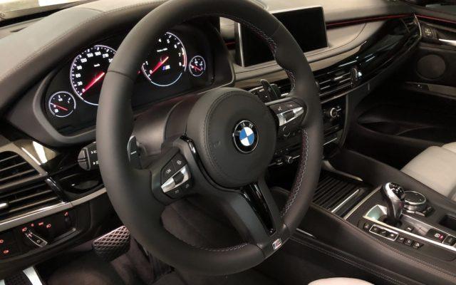 Перетяжка руля BMW X5 M