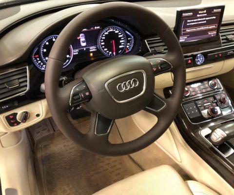 Перетяжка руля Audi A8