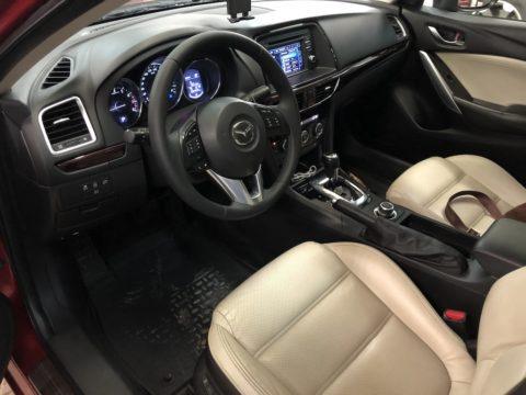 Перетяжка руля Mazda 6