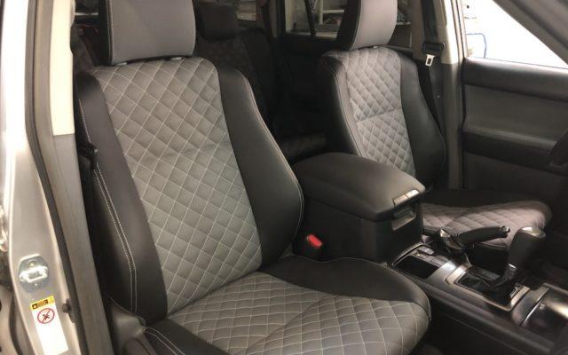 Перетяжка салона Toyota Prado 150