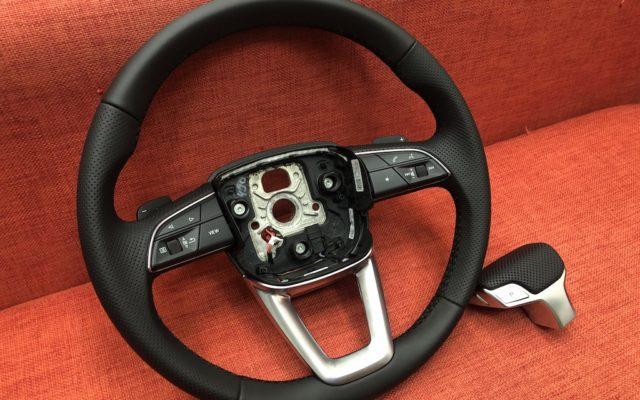 Перетяжка руля Audi Q8 и ручки АКПП