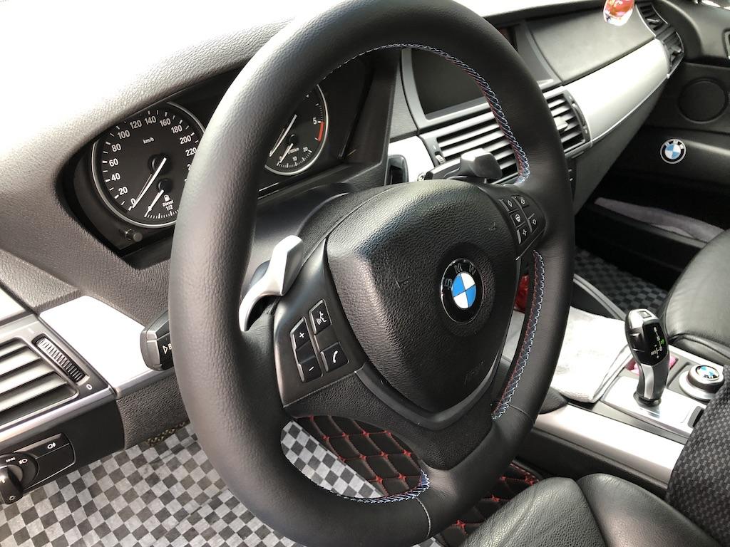 Перетяжка руля BMW X5