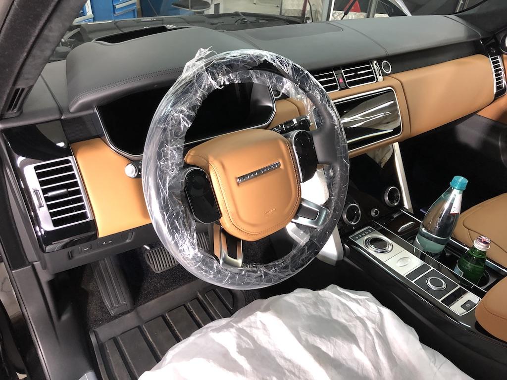 Перетяжка Range Rover 2020