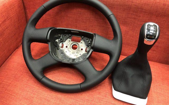 Перетяжка руля Skoda Octavia A5