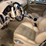 Ремонт сиденья Porsche Cayenne