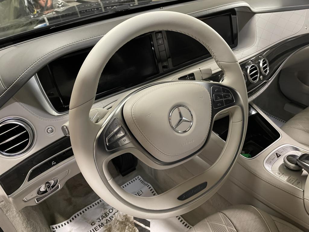 Покраска кожи Mercedes W222