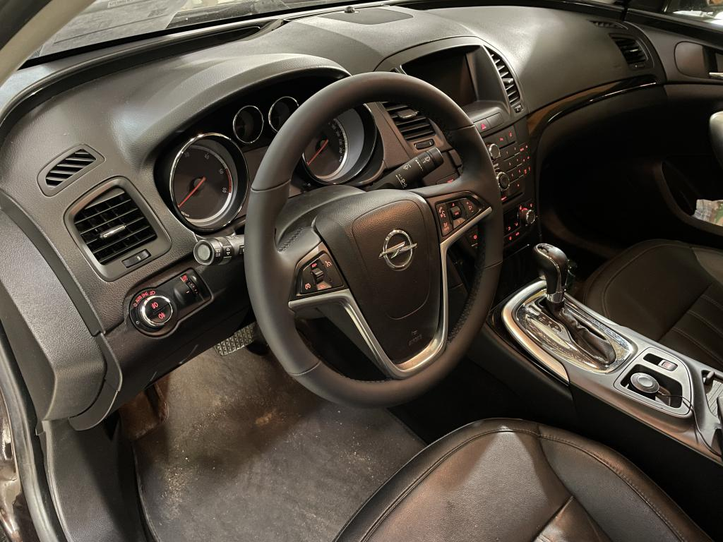 Перетяжка руля Opel Insignia